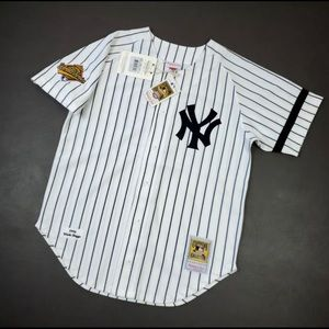 100% Authentic Wade Boggs Mitchell & Ness Jersey